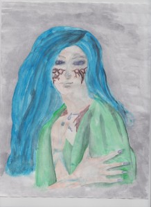 Artwork provided by Miquela Velez.