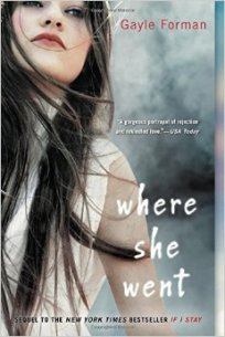 "The sequel to ""If I Stay"", ""Where She Went"" tells the story of how Mia's life has changed since leaving Adam, her boyfriend, and how she recovered from a car accident. Author Gayle Forman explores the idea of how time apart only strengthens a young relationship. ""Where She Went"" is a tale about chance and hope and was a top seller for 2014."