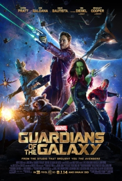 """Guardians of the Galaxy"" has been the Number 1 box office movie in America for two weeks. Released on Aug. 1, 2014, the Marvel comics based movie has made over $772.1 million. Vin Diesel and Chris Pratt star in the film and are a part of the superhero team that protects the universe from threats all across space."