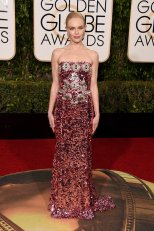 Kate Bosworth in Dolce & Gabbana Bosworth wasn't nominated, but this sparkly and strapless number deserved its own award. Photo provided by Popsugar.