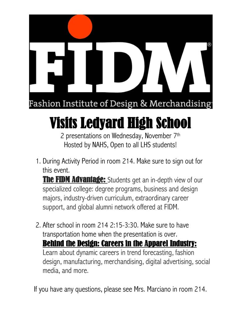 FIDM Vists LHS